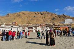 Tashilhunpo Monastery Royalty Free Stock Images