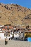 Tashilhunpo Monastery. In Shigatse, Tibet. Photo taken on April 14, 2009 Royalty Free Stock Images