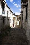 Tashilhunpo monastery ancient buildings. ,Xigaze of Tibet Stock Photo