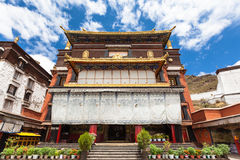 Tashilhunpo Monastery. The Tashilhunpo Monastery in Lhasa, Tibet, China Stock Image