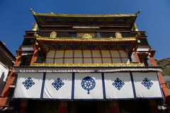 Tashilhunpo Monastery Royalty Free Stock Image