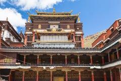 Tashilhunpo Monastery in Shigatse Royalty Free Stock Photos