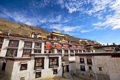 Tashilhunpo Monastery. In Shigatse, Tibet Royalty Free Stock Image