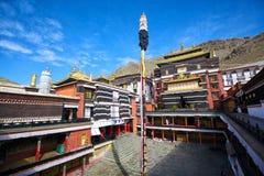 Tashilhunpo Monastery. In Shigatse, Tibet Stock Photo
