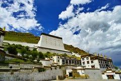 Tashilhunpo Monastery. In Shigatse,Tibet Royalty Free Stock Image
