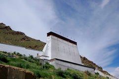 Tashilhunpo monastery. Tibetan buddhist monasteries in Tibet Stock Image