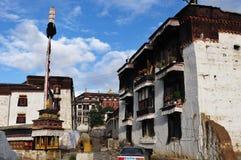 Tashilhunpo temple, Tibet buddhism temple Royalty Free Stock Photography