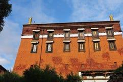 Tashilhunpo temple, Tibet buddhism temple Royalty Free Stock Photo