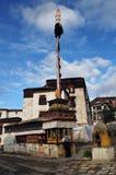 Tashilhunpo temple, Tibet buddhism temple Stock Images