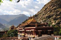 Tashilhunpo temple, Tibet buddhism temple Stock Photos
