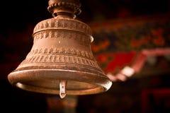 Tashilompu kloster Klocka Shigaste Tibet Arkivbild