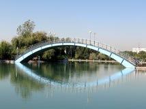 Tashkent Almazar le pont 2007 Photographie stock libre de droits