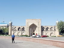 Tashkent Almazar Madrassah en septembre 2007 Images stock