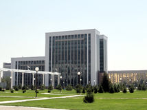Tashkent building of the Ministry of Finance 2007 Stock Photos