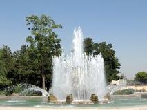 Tashkent fountain on Sayilgoh street 2007 Royalty Free Stock Photography