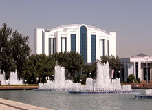 Tashkent fountains September 2007 Royalty Free Stock Photography