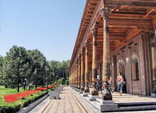 Tashkent Gallery in Independence square 2007 Royalty Free Stock Photos