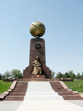 Tashkent Happy Mother Monument on Independence Square 2007 Stock Photos