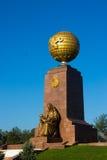 TASHKENT, L'OUZBÉKISTAN : Le monument de l'indépendance Images libres de droits