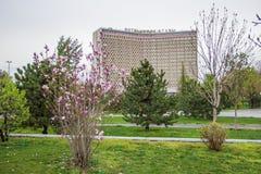 Tashkent, l'Ouzbékistan - 21 mars 2016 : hôtel l'Ouzbékistan dans Tashk Photographie stock libre de droits