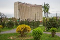 Tashkent, l'Ouzbékistan - 21 mars 2016 : hôtel l'Ouzbékistan dans Tashk Photo stock