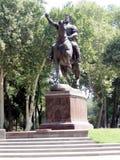 Tashkent le monument 2007 d'Amir Temur Photo libre de droits