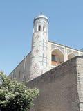 Tashkent minaret of Kukeldash Madrassah 2007 Stock Photo