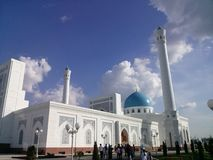 Tashkent Mosque. Modern building of the Mosque in Tashkent, Uzbekistan Royalty Free Stock Image