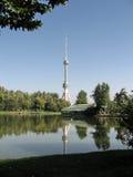 Tashkent new TV tower 2007 Royalty Free Stock Images