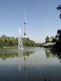 Tashkent the new TV tower 2007 Royalty Free Stock Photography