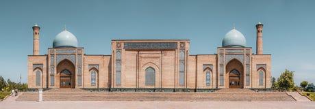 Panorama view of Teleshayakh Mosque - Tashkent Uzbekistan stock image