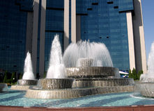 Tashkent Yunusabad fountains September 2007 Stock Photography