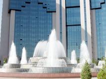 Tashkent Yunusabad the fountains 2007 Stock Photo