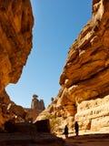 Tashwinet Gorge, Akakus (Acacus) Mountains, Sahara Stock Image