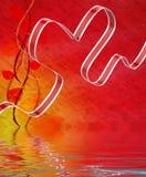 Tasiemkowa Kierowa pokaz miłości afekcja I przyciąganie ilustracji