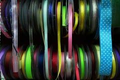 Tasiemkowa rolka kolorowa Zdjęcia Royalty Free