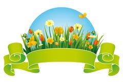 tasiemkowa wiosna Zdjęcia Stock
