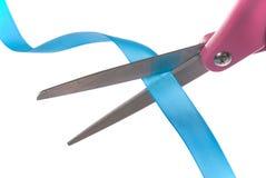 tasiemkowi nożyczki obrazy royalty free