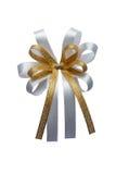 Tasiemkowy łęk odizolowywający na białym tle Zdjęcie Royalty Free