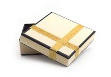 tasiemkowy prezenta opakunek zdjęcie stock