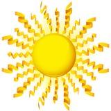 tasiemkowy słońce Fotografia Royalty Free