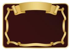 tasiemkowy signboard Obrazy Stock