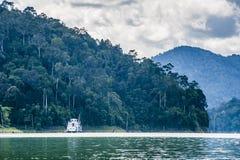 Tasik Banding. Also known as Tasik Temenggor a man-made lake as dam Stock Images