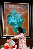 Tasik Kenyir, der größte künstliche See Lizenzfreie Stockfotografie