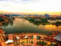 TASIK PUTRAJAYA. Djiphotography tasik tasikputrajaya aerialphotography photoeditor stock image