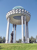 Tasjkent Alisher Navoi Memorial September 2007 Arkivbild