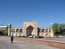Tasjkent Almazar Madrassahen September 2007 Arkivfoton