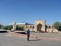 Tasjkent Almazar sikt av Madrassah September 2007 Arkivbilder