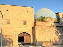 Tasjkent Almazar sikt av Madrassah September 2007 Arkivfoton