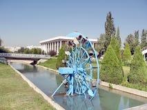 Tasjkent Almazar vattenhjul September 2007 Royaltyfri Bild